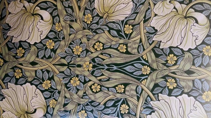 Tapeten Pimpernel av William Morris 1876